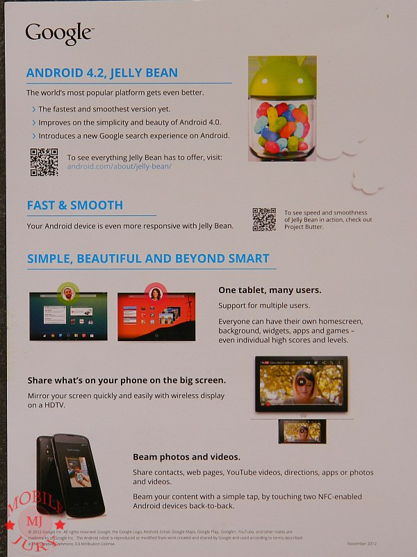 Whats new in Android 4.2 - List of features in Android 4.2 Jelly Bean