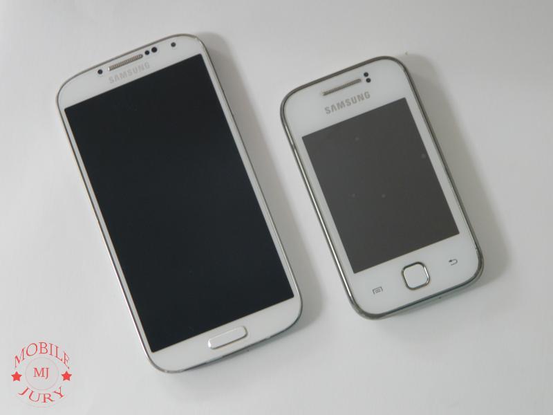 Samsung Galaxy S4 & Samsung Galaxy Y