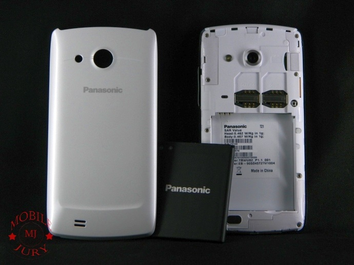 Panasonic T21 with Battery
