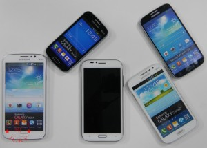 Size compared with other Samsung phones_Karbonn Titanium S9