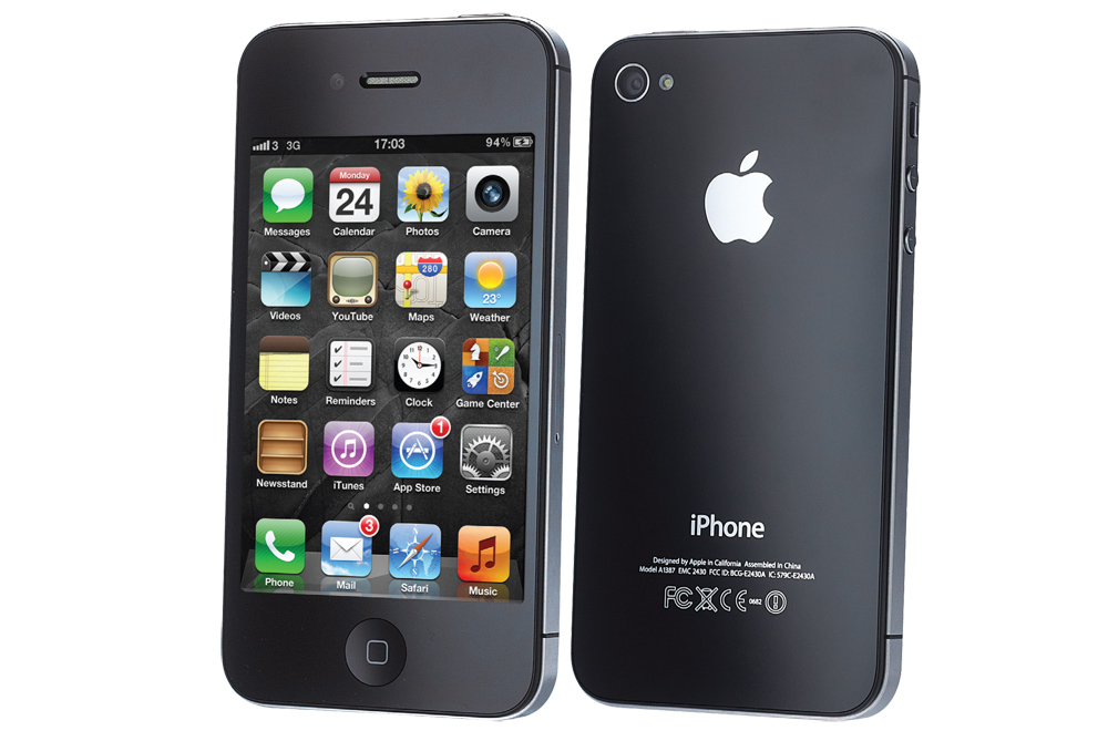 Apple iPhone 4S- most popular mobile phones