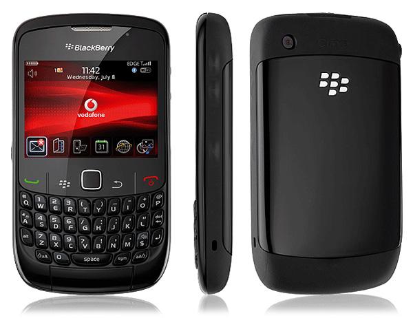 BB Curve 8520- most popular mobile phones