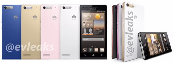 Two Huawei Smartphones