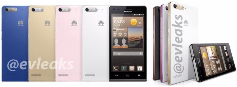 Huawei Ascend G6 press render