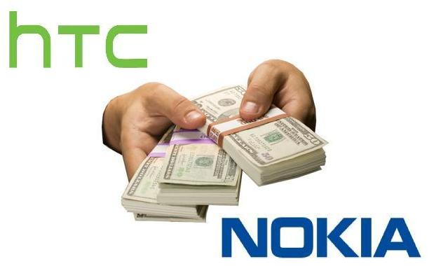 HTC will pay Nokia