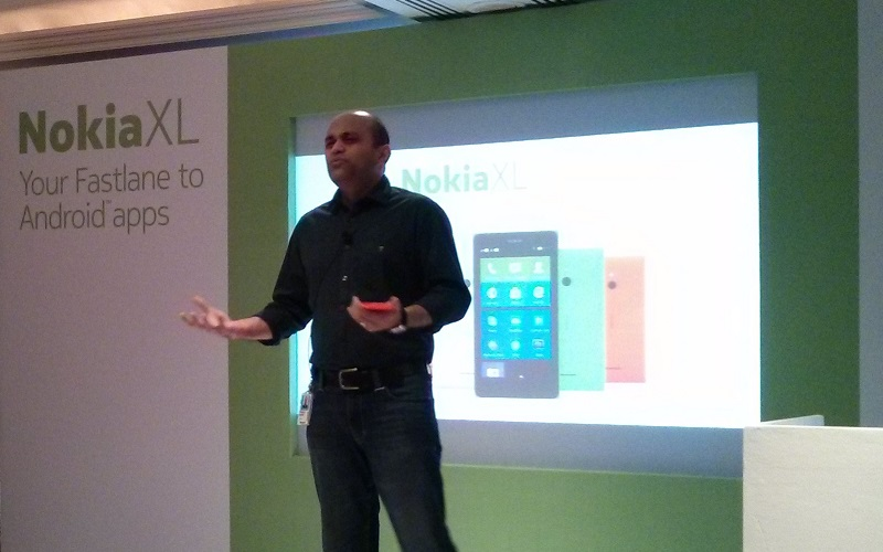 Nokia XL Launch in India