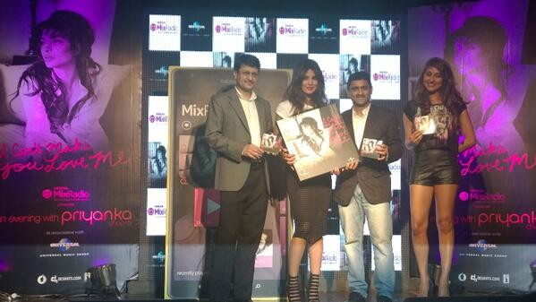 Priyanka Chopra releases her first Solo Single on Nokia MixRadio