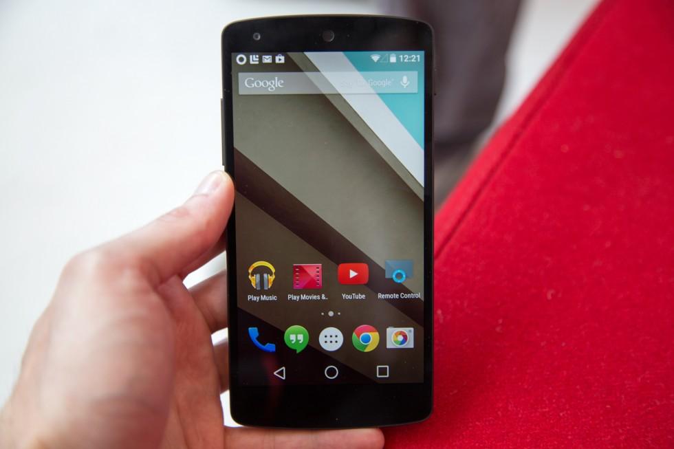 Android-L-on-Nexus-5