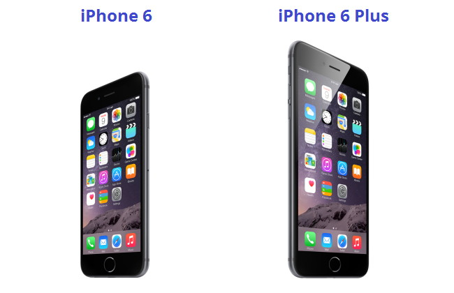 iPhone 6 plus and iPhone 6 in India
