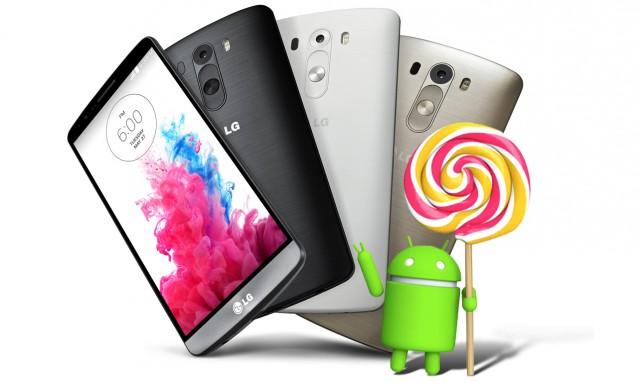 Lg g3 android lollipo 5.0 update