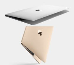 Macbook Gold and Silver