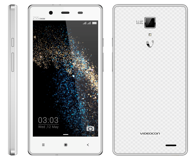 Videocon z55 dash octa core 2