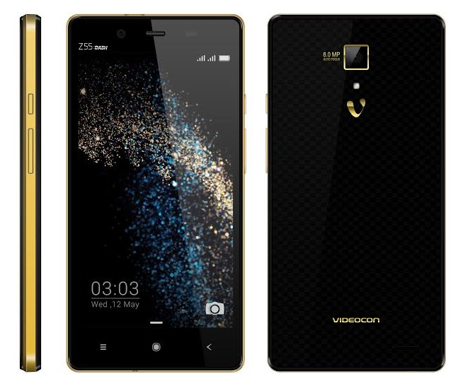 Videocon z55 dash octa core