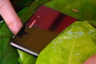 Sony Xperia Z1 Water-Test Video with Paanwala